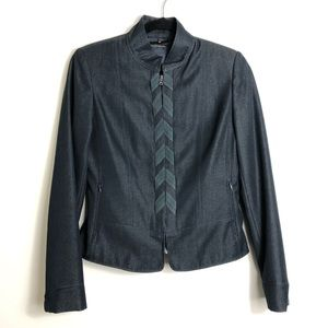 2 Piece Ellie Tahari dark blue pant suit